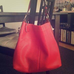 Handbags - Red Coach Shoulder Bag